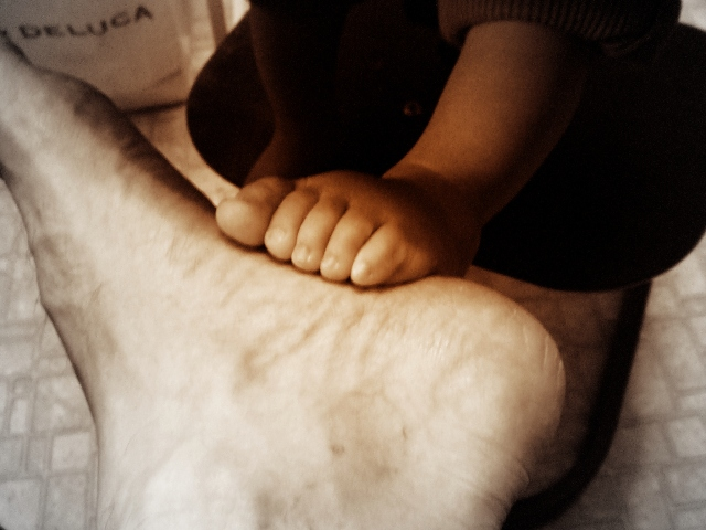 Rui & Daddy's feet