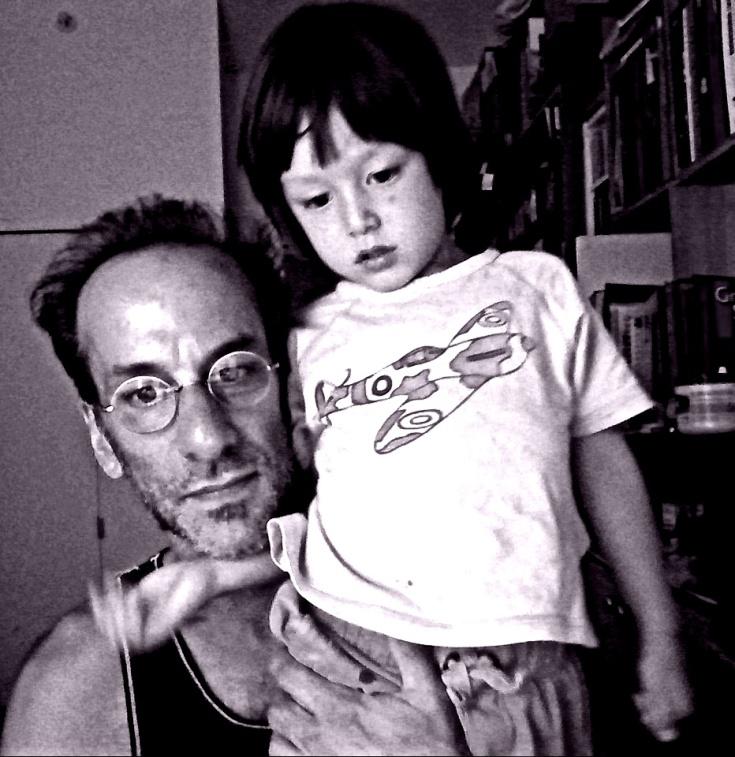 rui and daddy w camera B