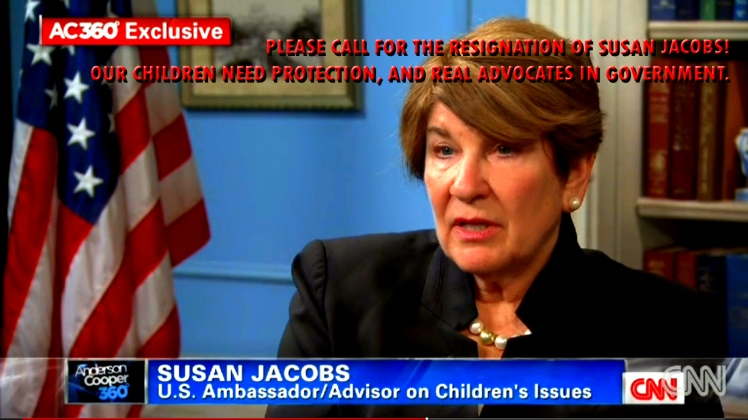 Susan Jacobs Should Resign