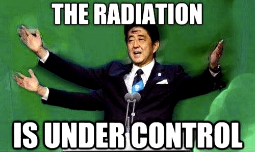 Abe Radiation is Under Control