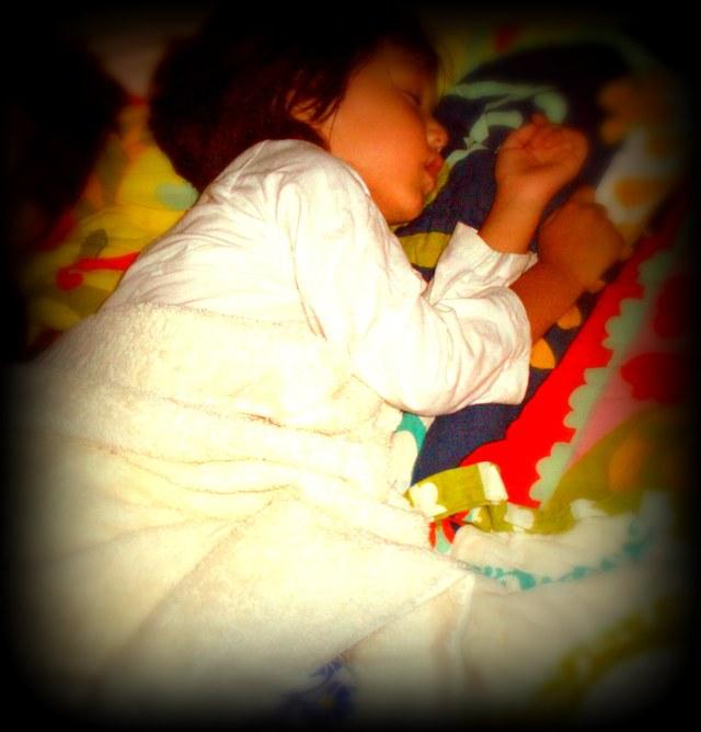 Yama sleeps over
