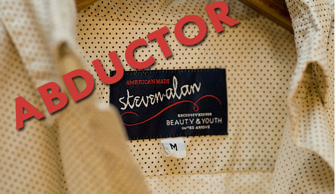 Steven Alan United Arrows Beauty & Youth Label Abductor
