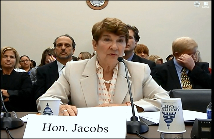 Jacobs struggled to cover up the agencies' cover up of Japan's state-supported International Parental Child Abductions