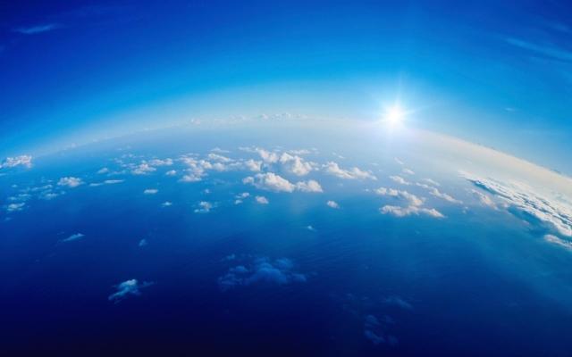 blue-earth-sunrise