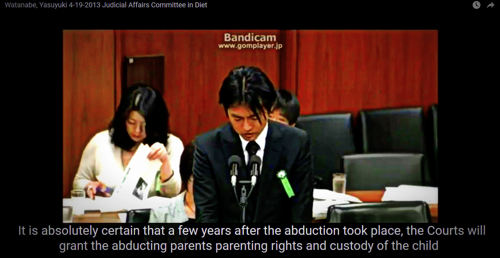 Abduction becomes custody in Japan
