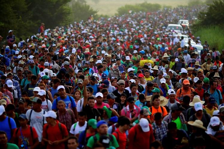 Migrant caravan 1