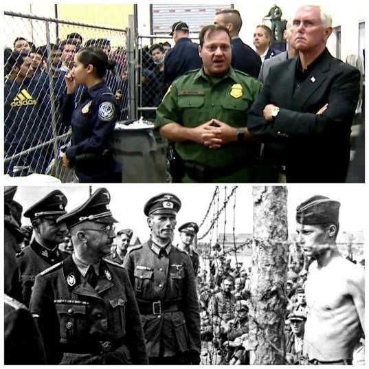 Pence at Trump's Concentration Camps